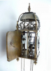 An early mini balance wheel Lantern Clock, alarm, 30 h., England circa 1660.