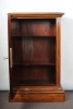 A good French Louis Philippe mahogany one-door cupboard, circa 1840