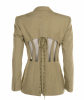 SS1989 Jean Paul Gaultier Cut-out Corset or Cage Jacket - Jean Paul Gaultier