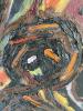 Willem Hussem, Painting 'Composition no. 2', oil on canvas, 1954 - Willem Hussem
