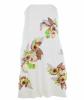Resort 2008 Chloé White Embroidered Strapless Dress - Chloé