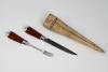 An amber cutlery  set