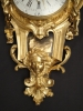 W26 Gilt bronze ormolu Cartel, double signature Jean Baptiste Helye - Paris, France