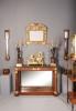 An English original gilded mirror, circa 1700