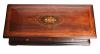 A large Swiss rosewood Mandoline Quatuor music box by Conchon, circa 1860