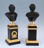 A pair of Empire bustes.