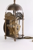 An early English brass engraved Italian striking lantern clock, by John Pleydell, circa 1675