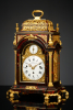 Musical English Table Clock for the Ottoman Market