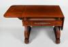A mahogany  George IV center table