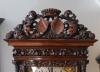 An early Dutch walnut veneered and carved longcase clock, by Huijgens, circa 1690