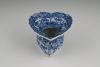 A Chinese porcelain spittoon