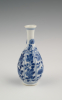 A small Chinese porcelain bottle vase