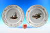 A large pair of Fürstenberg plates