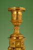 A very attractive pair of large candlesticks