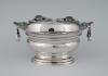 A silver sugar candy bowl, Middelburg 1752