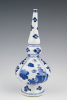 A Chinese porcelain rosewater sprinkler
