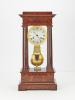 4 glass table regulator clock from Janvier Paris Workshop