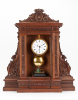 Electric oak mantel clock Matthias Hipp