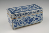 A rare Chinese porcelain inkwell