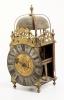Mooie lantaarnklok van Roüelle A Bayeux met gaand,(repetitie) slag en wekkerwerk