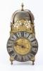 Beautiful big lantern clock signed Roüelle A Bayeux
