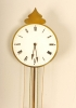 A Vienna brass quarter striking so-called 'Brettl' wall clock, circa 1835