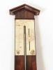 Een Franse pallissander barometer, door Adams, omstreeks 1830
