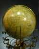 An exceptional desk-globe clock, Pendule Cosmographique, by Mouret, Paris , c.1880.