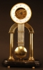 S01 Skeleton clock with glass dome