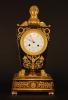 M21 Ormolu and Patinated Bronze Mantel Clock