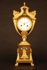 M53 French Ormolu and Patinated Urn Clock