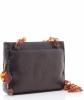 Chanel Brown Leather Tortoise Chain Shoulder Bag - Chanel