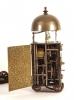 A small Japanese brass lantern clock, circa 1800