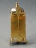 Noord Franse miniatuur tafel-lantaarnklok, vuurvergulde kast, Louis XVI circa 1790-1800.
