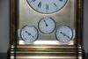 C02 Grande sonnerie multi dial travel alarm clock full calendar