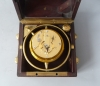 Kleine aantrekkelijke marine chronometer Winnerl, Frankrijk, circa 1850.