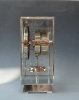 M186 Tall Atmos, nikkel, Art Deco design, J.L. Reutter nr. 5054
