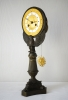 Eagle-clock,  powerful symbolism in  gilt and patinated bronze, Charles X, ca. 1840