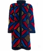Christian Dior Colorful Shearling Patchwork Coat  - Christian Dior