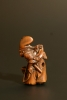 Houten netsuke: mythologische figuur Japan Edo periode