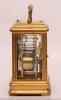 A fine French gilt brass 'Giant' carriage clock, Drocourt, circa 1870