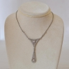 Platinum Art Deco necklace