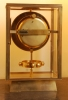M195 Large Reutter gilded bronze Atmos, no 6259, 4 glasses, France