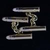 Cartier bullet cufflinks