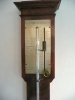 French Stick Barometer circa 1830 signed Vincent CHEVALIER ainé, Paris.