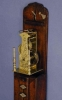J03 Miniature Japanese Wood Pillar Clock