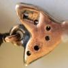 Diamant en opaal oorbellen