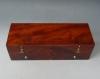 X An excellent music box, key wind, 4 melodies, Marseillaise, no 8214, circa 1840.