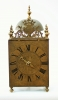 A rare French Morbier lantern wall clock, Claude Reynaud, circa 1730