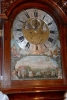 L03 Longcase clock with extensive automaton